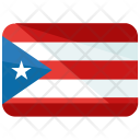 Cuba Flag Country Icon