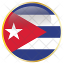 Cuba National Flag Icon