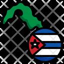 Cuba Flag Country Cuba Icon