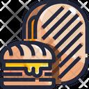 Cuban Sandwich Icon