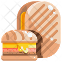 Cuban Sandwich Miami Sandwich Icon