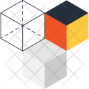 Cube Abstract Isomatric Icon