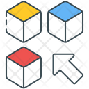 Cube Puzzle Subjects Icon