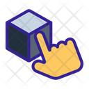 Cube D Hand Icon