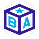 Cube Block Toy Icon