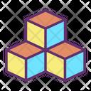 Icube Cube Baby Toy Icon
