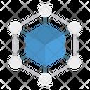 Cube Shape Process Icon