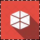 Cube Shape Education Icon