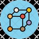 Cube Molecule Molecular Icon