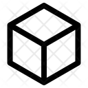 Cube Box Perspective Icon