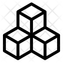 Puzzle Cube Mind Icon