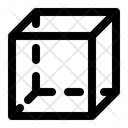 Cube Squares Geometry Icon