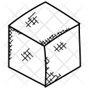 Cube Three Dimensional Icon