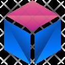 Cube Box Logogram Icon
