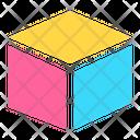 Icon Cube Abstract Primitive Icon