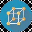 Cube Hypercube Mathematics Icon