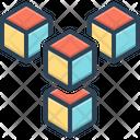 Cube Cuboid Module Icon