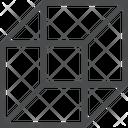 D Cube D Shape Shape Icon