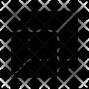 Cube Shape Square Icon