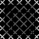 Cube Molecule Geometry Icon
