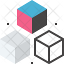 Cube Development Modeling Icon