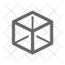 Cube Geometry Icon