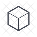Cube Geometry Cube 3 D Icon