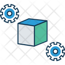 Cube Settings Icon
