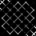Cube Shape Molecule Icon
