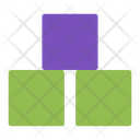 Cubes Blocks Education Icon