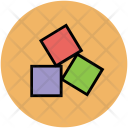 Cubes Toy Blocks Icon