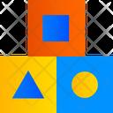 Cubes Geometric Shape Cube Icon