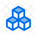 Cubes Box Connect Icon
