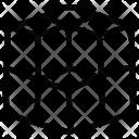 Cubes Geometric Seamless Icon
