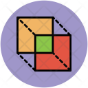 Cubes Rectangle Design Icon