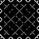 Cubic Volume Capacity Icon