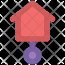 Cuckoo Clock Pendulum Icon