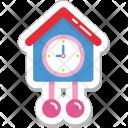 Pendulum Clock Grandfather Icon