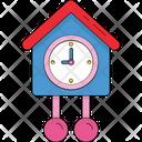 Cuckoo Bird Clock Cuckoo Nest Icon