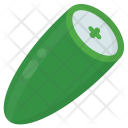 Cucumber Half Vegetable Icon