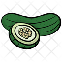 Cucumber Vegetable Healthy Diet Icon