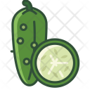 Cucumber Vegetable Garden Icon