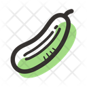 Cucumber Food Vegetables Icon