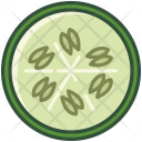 Cucumber Vegetable Gherkin Icon