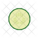 Cucumber Slice Icon