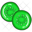 Cucumber Cucumber Slice Facial Cucumber Icon