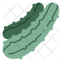 Cucumber Vegetable Ingredient Icon