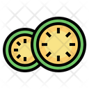 Cucumber Cooking Nutrition Icon