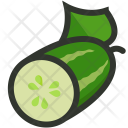 Cucumber Salad Vegetable Icon