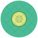 Cucumber Slice Vegetable Icon